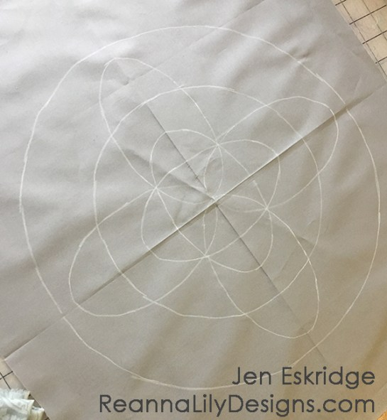 Free-Motion Framework Quilts- A Workshop by Jen Eskridge | ReannaLily Designs | ReannaLily Quilts | C&T Publishing