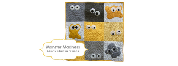 Monster Madness Quilt Pattern