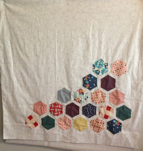 Hexagons Made Easy   Wall Hanging   ReannaLily Designs