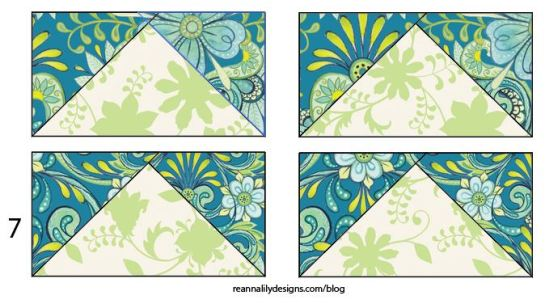 Chevron Grande - Flying Geese Sewing Quilt Tutorial - Jen Eskridge - ReannaLily Designs