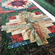 Forest Floor Longarm Quilting