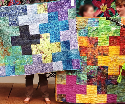 Batik Plus Quilts for Charity by ReannaLily Designs : greater san antonio quilt guild - Adamdwight.com