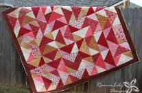 Giant Fat Quarter Flying Geese – Queen Size