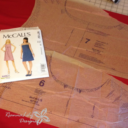 Nancy Zieman Knit Dress Sew Along | ReannaLily Designs