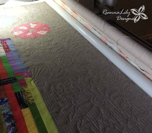 Longarm Quilting Designs | Quilting Motif | by Jen Eskridge | ReannaLily Quilts