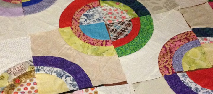 Giant Curves: New Quilt Top