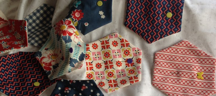 Hexagons Made Easy Wallhanging