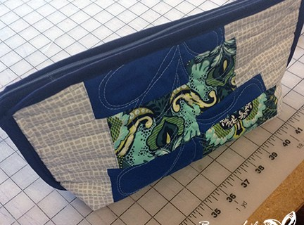 Mini Quilt Zip Top Bag