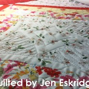 Nested 9-Patch Quilt Finished by Jen Eskridge