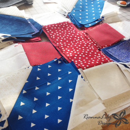X and + Quilt | Jen Eskridge | ReannaLily Designs | Seamingly Accurate Seam Guide