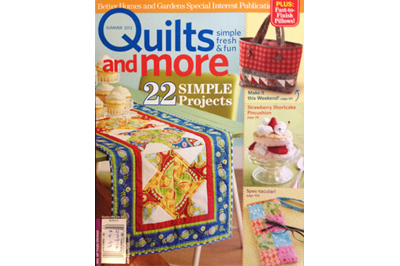 Seamingly Accurate in Quilts and More Summer 2012