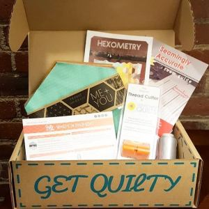 October Quilty Box | Seamingly Accurate Seam Guide by Jen Eskridge