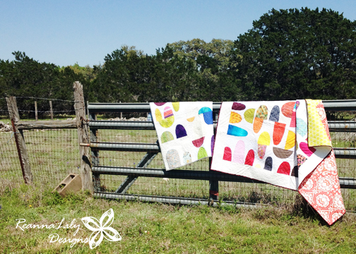 Two Quilts |Rex Ray Inspired | ReannaLily Designs | ReannaLily Quilts