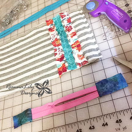 Project Quilting   Textured Ruffle Bag   Binding Scraps   ReannaLily Designs   Seamingly Accurate