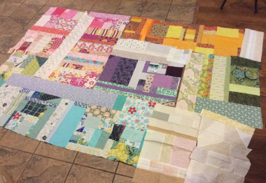 Scrap Quilt Plan | ReannaLily Designs