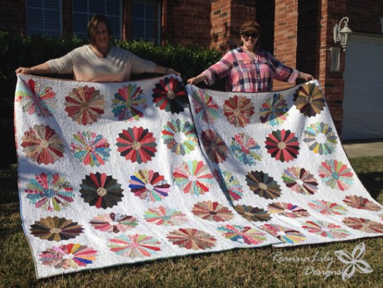 Scrappy Dresden | MD Anderson Quilt Auction | ReannaLily Designs