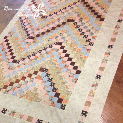 Scrappy Trip Along | Brown | ReannaLily Designs