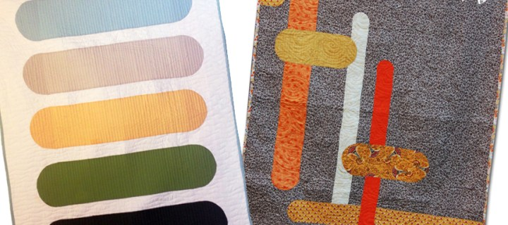 New Bars Quilt Patterns from ReannaLily Designs