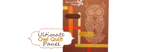 Ultimate Owl Quilt – Cheater Panel