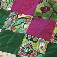 Accidental Watermelon Quilt