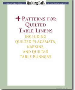Table Linens eBook