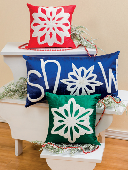 Snow Pillows | Celebrate Christmas