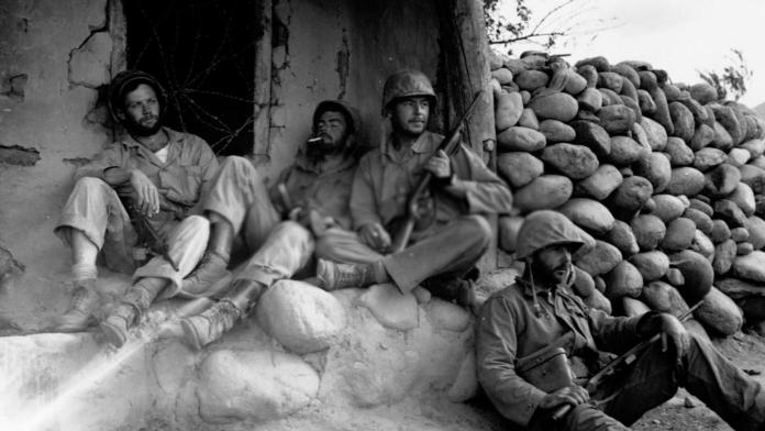 American Soldiers during the Korean War