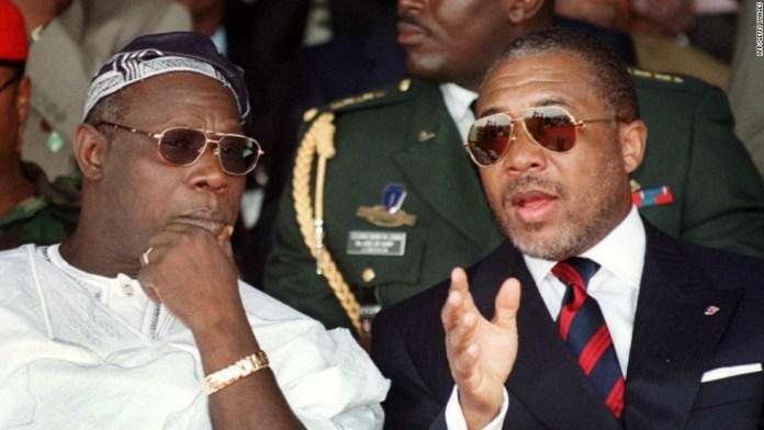 Charles Taylor Liberian Civil War