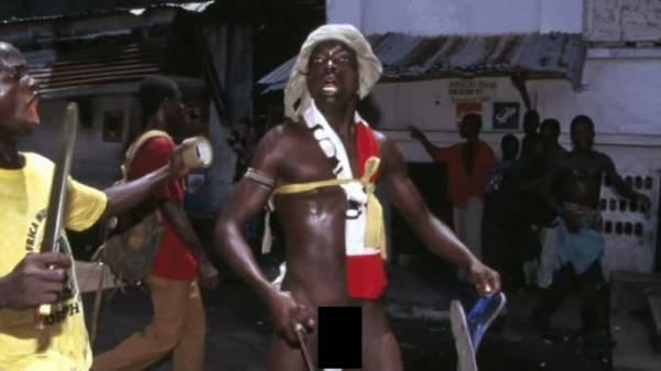 General Butt Naked Liberian Civil War
