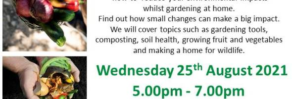 REAP's Sustainable Gardening at Home Workshop