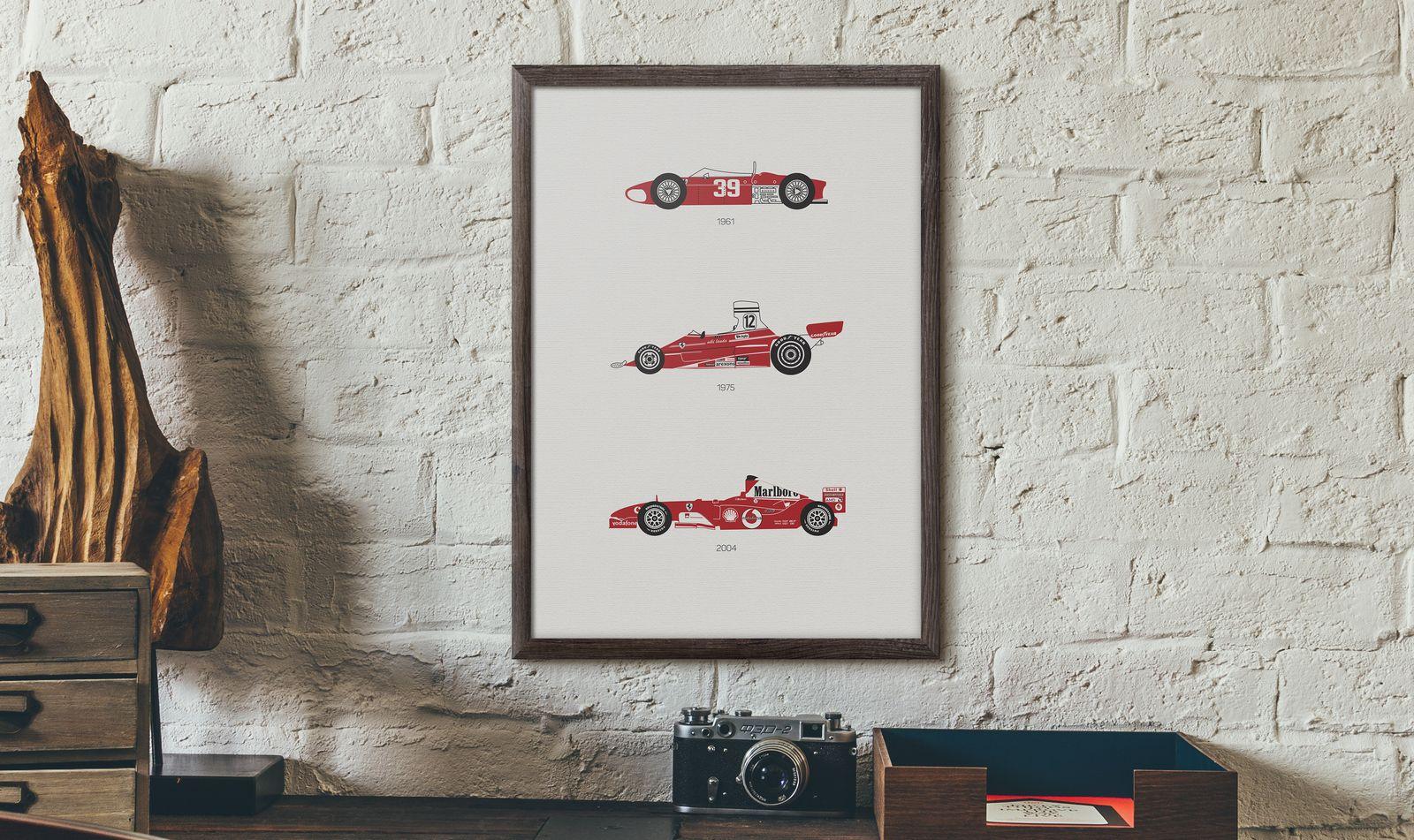 Ferrari Car Print