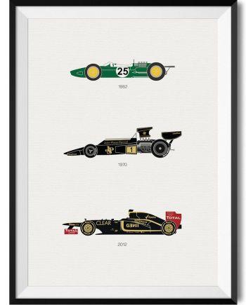 Lotus F1 Car Print