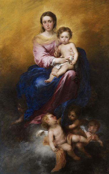Murillo,_Bartolomé_Estéban_-_The_Madonna_of_the_Rosary_-_Google_Art_Project