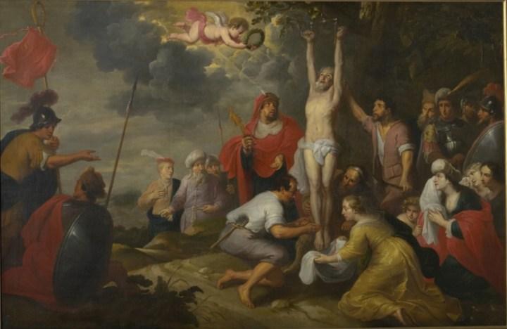 "Caspar de Crayer, ""Martyrdom of Saint Blaise"", between 1601 and 1669 (photo- Public Domain)"