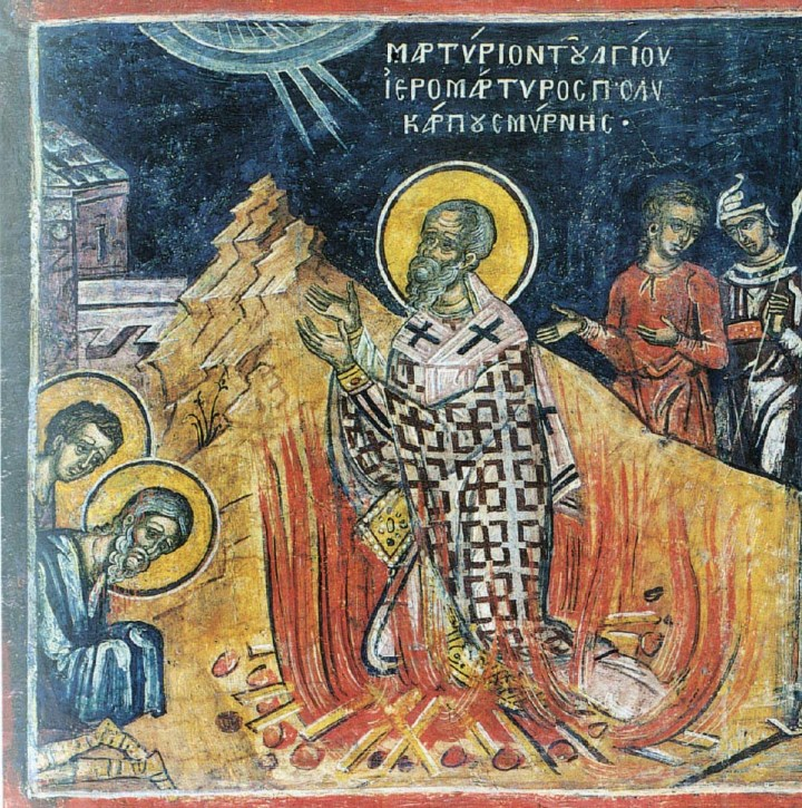 Martyrdom of St Polycarp