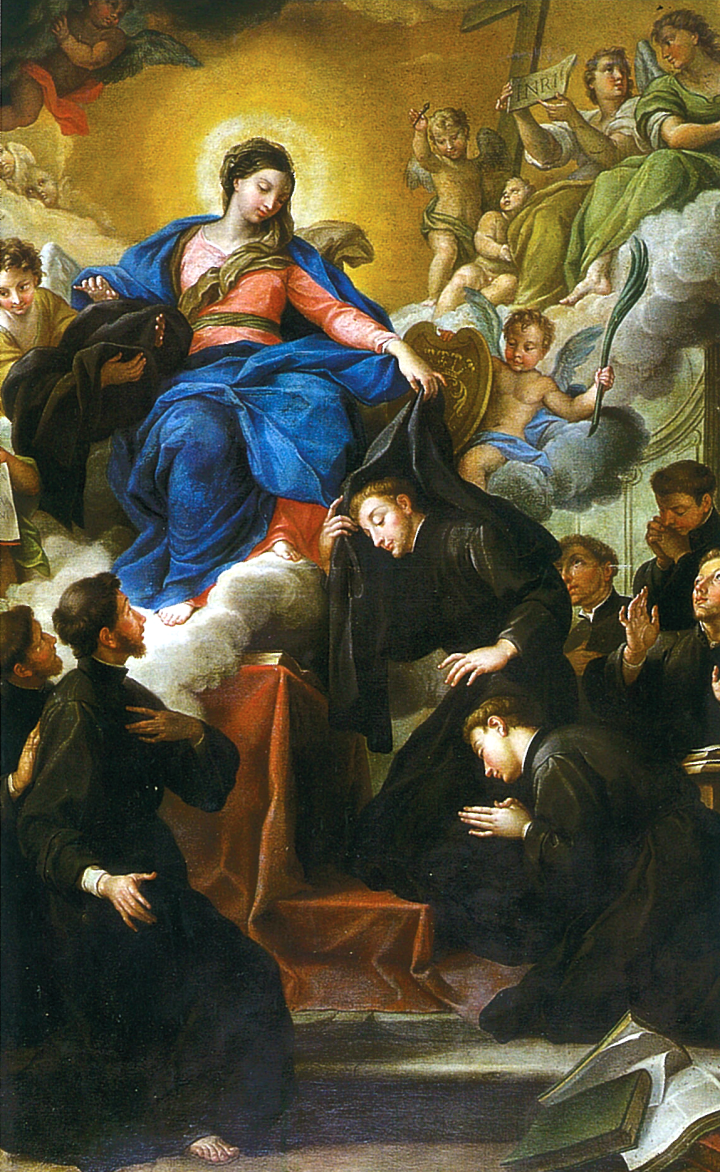 The Madonna with the Seven Founders of the Servite Order | The Art Institute of Chicago Agostino Masucci, c. 1728