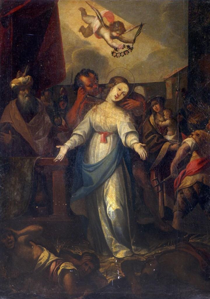 Unknown Lombardian Artist Saint Juliana of Nicomedia 17th century