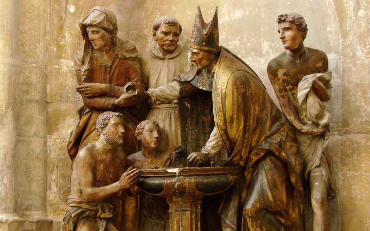 Born-Again-in-Water-and-the-Spirit-2-Statue-of-Ambrose-Baptising-Augustine-2
