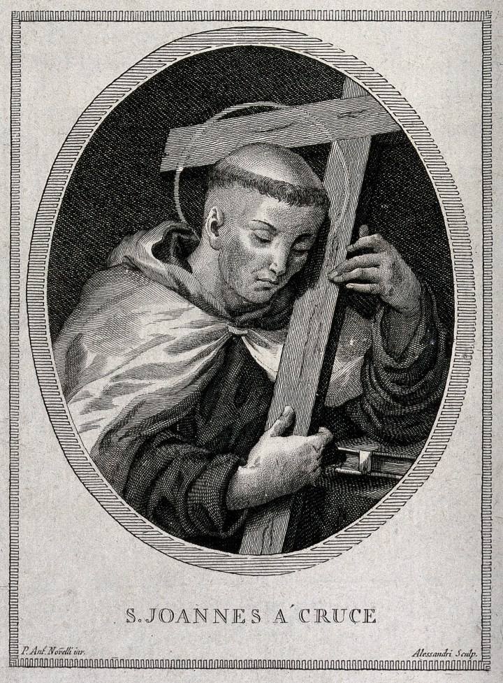V0032370 Saint John Joseph of the Cross. Engraving by Alessandri afte