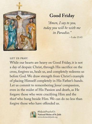 Good Friday - National Shrine of St. Jude