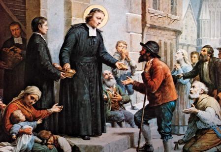 distributing-bread