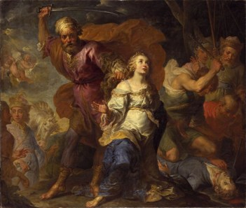 Martyrdom of St Dymphna and St Gerebernus by Jacques de l'Ange