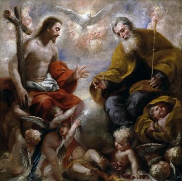 The Holy Trinity, Francisco Caro.