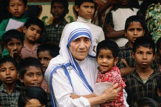 Mother Teresa with Children