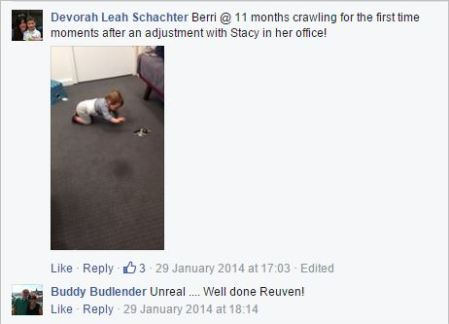 Budlender 31 baby crawling photo testimonial 2014