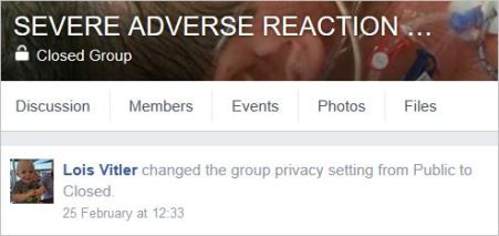 Vitler 3 closed AE group and banned members Feb 2016