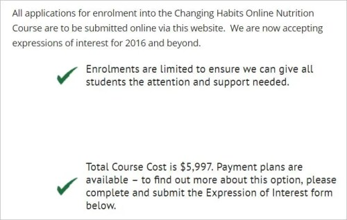 O'Meara 57 website course cost