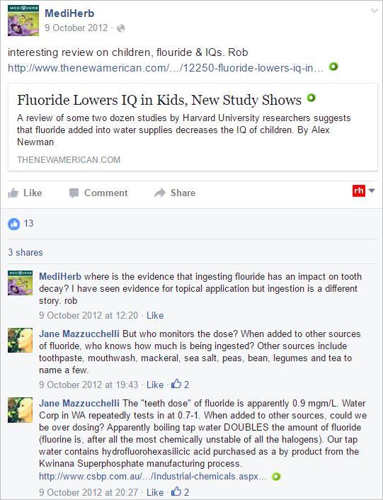 Bone 9 2012 anti fluoride MediHerb