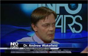 Wakefield, on Infowars.