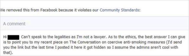 AVN 6687 Patrick banned comment